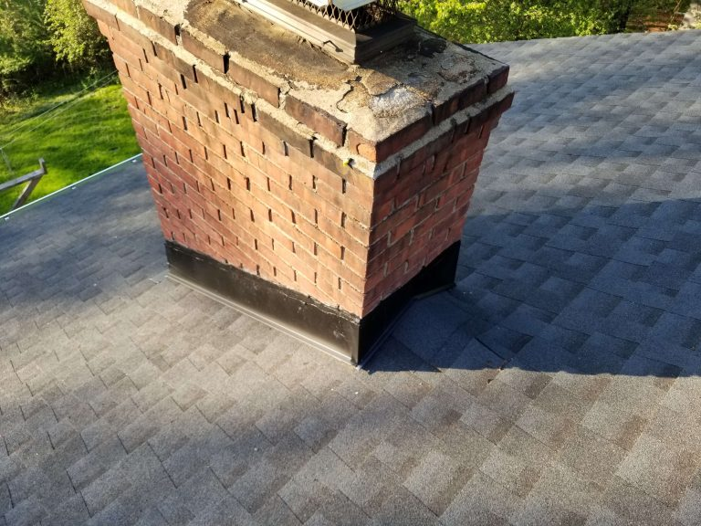Asphalt Shingle Installation Job