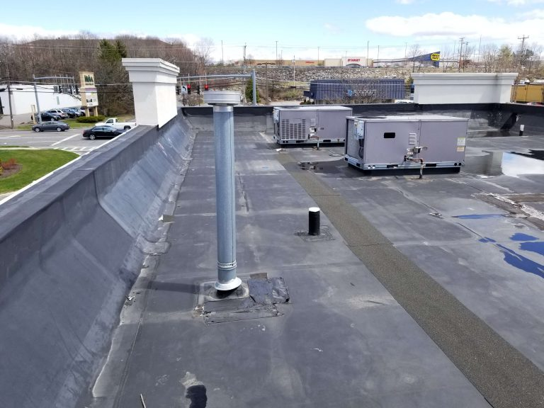Flat Roof Repair Dunkin Donuts 1