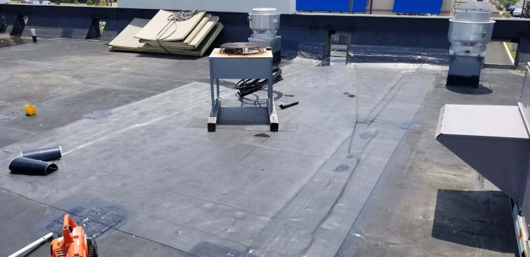 Flat Roof Repair Dunkin Donuts 3