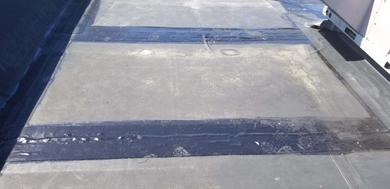 Flat Roof Repair Dunkin Donuts 5