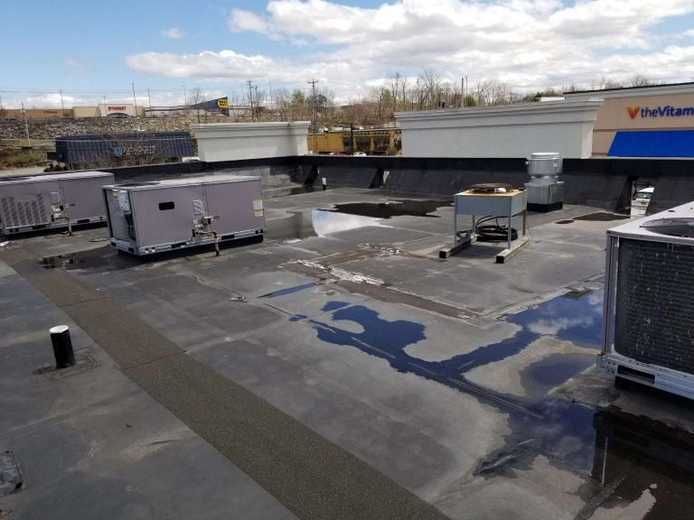 Flat Roof Repair Dunkin Donuts 6