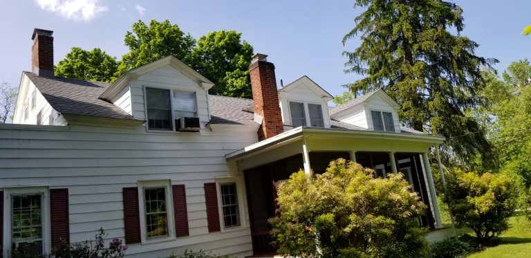Hollow Gray Asphalt Shingles Install