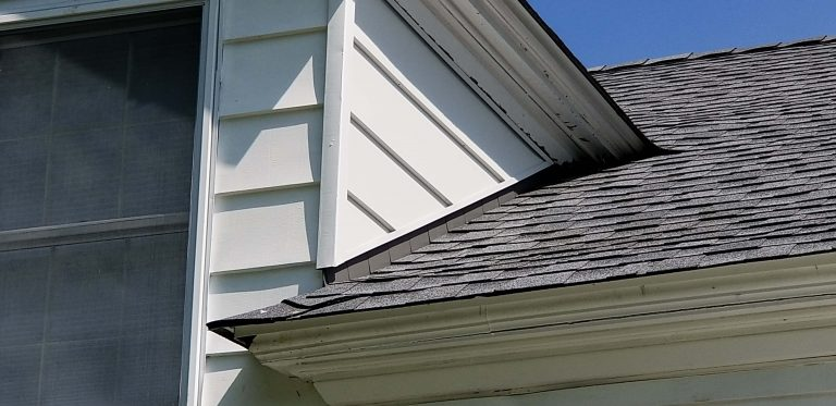 Hollow Gray Asphalt Shingles