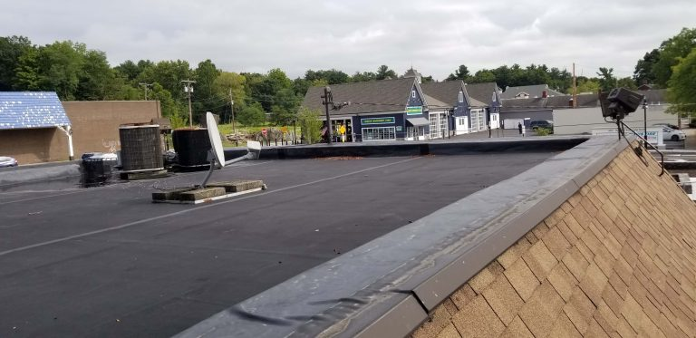 Hye Park Bank Flat Roof Repair 1