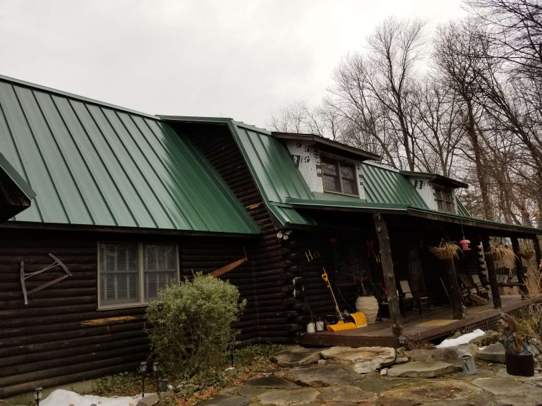 Metal Roofing Work