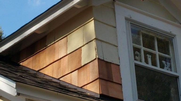 Wood Shingles Repair